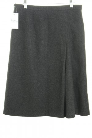 Jil Sander Wollrock anthrazit Casual-Look
