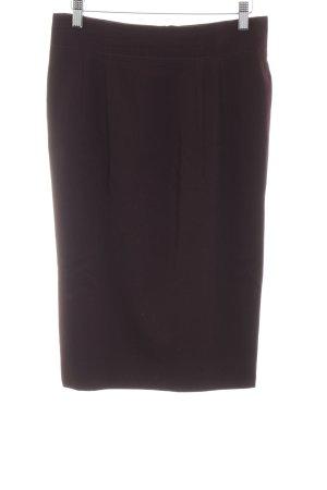 Jil Sander Wollen rok zwart zakelijke stijl