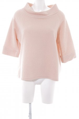 Jim P Wollpullover apricot Steppmuster Casual-Look