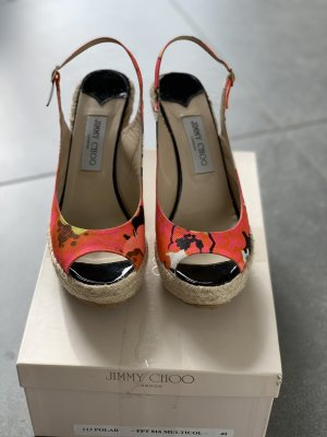 Jimmy Choo Platform Sandals multicolored