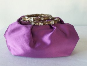 Jimmy Choo Mini sac violet