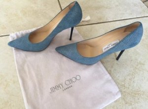 Jimmy Choo Agnes Jeanslook Pumps