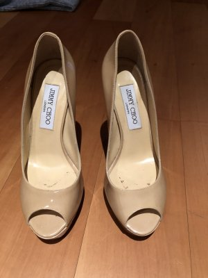Jimmy Choo Peep Toe Pumps veelkleurig
