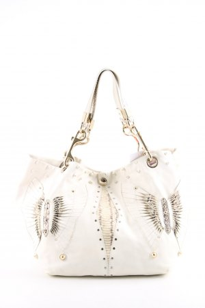 Jimmy Choo Pouch Bag white-natural white extravagant style