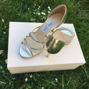 Jimmy CHOO Bridal Collection Sandals, Gr. 37 jetzt AKTION