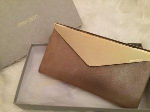 Jimmy Choo Bolso de mano color rosa dorado-color oro