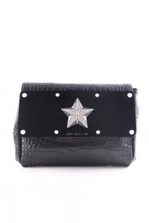 Jimmy Choo for H&M Clutch black extravagant style