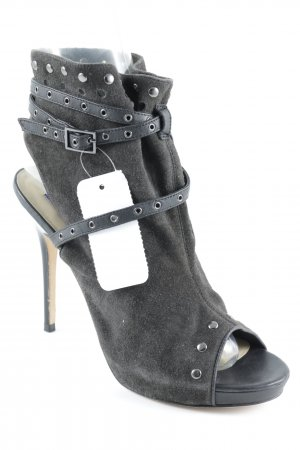 Jimmy Choo for H&M Riemchenpumps dunkelgrau Casual-Look