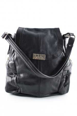 Jimmy Choo for H&M Schultertasche schwarz Casual-Look