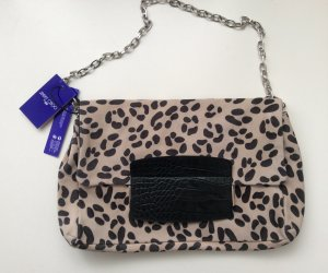 Jimmy Choo for H&M Tasche Wildleder Animalprint Neu Kettenhenkel