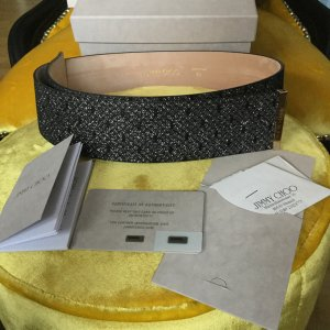 Jimmy Choo Cinturón pélvico multicolor Sintético