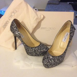 Jimmy Choo Glitzerpumps