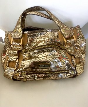 Jimmy Choo  Handtasche gold metallic