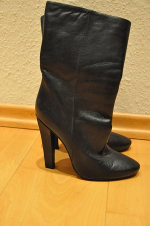 Jimmy Choo Slouch Booties black leather