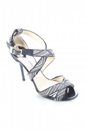 "Jimmy Choo High Heel Sandaletten ""Woven Lottie"""