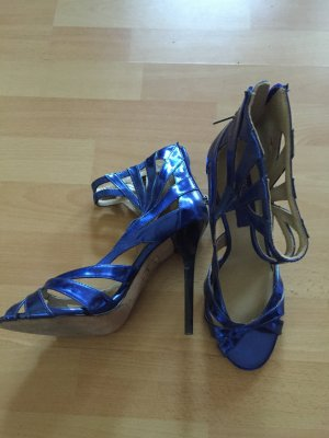 Jimmy Choo high heels blau