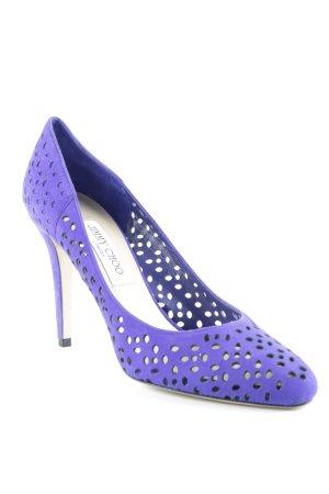 Jimmy Choo High Heels blau Elegant