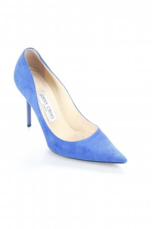 Jimmy Choo High Heels blau klassischer Stil