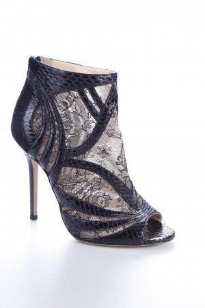 "Jimmy Choo High Heels ""Nexus Black Snake"" schwarz"