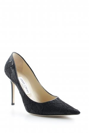 Jimmy Choo High Heels schwarz Elegant
