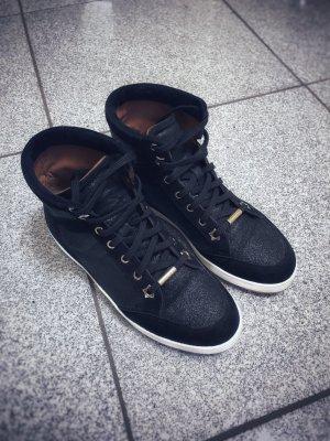 Jimmy Choo High-Top Sneaker Tokyo schwarz