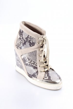 Jimmy Choo Keil-Stiefeletten Animalmuster Animal-Look