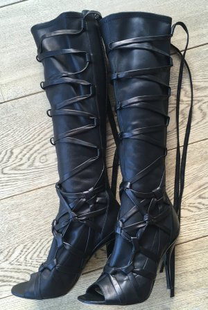 Jimmy Choo Slouch Boots black leather