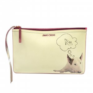 Jimmy Choo Leather Pouch