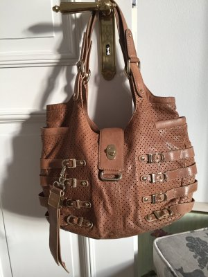 Jimmy Choo Ledertasche beige original