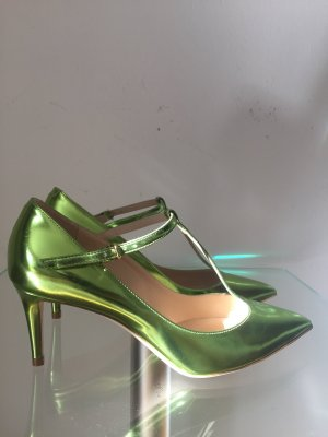 Jimmy Choo Strapped pumps neon green