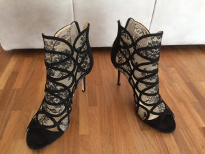 Jimmy Choo Peep Toe Booties Fauna