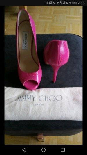 Jimmy Choo Peeptoes Größe 36,5