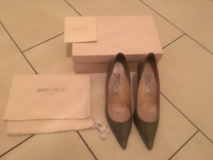 Jimmy Choo Pumps Agnes Grau Lack