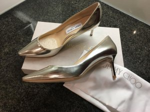 Jimmy Choo High-Front Pumps rose-gold-coloured