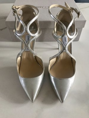Jimmy Choo Pumps Lancer, Gr. 41,5, Champagner
