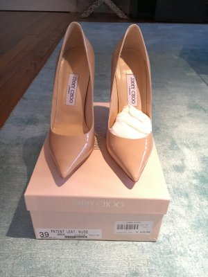 Jimmy Choo Pumps spitz in Nude
