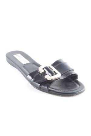 Jimmy Choo Riemchen-Sandalen schwarz Casual-Look