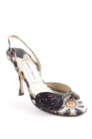 Jimmy Choo Strapped High-Heeled Sandals multicolored extravagant style