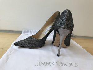 Jimmy Choo Romy 100 Lamé Glitter 36,5