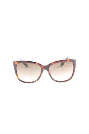 "Jimmy Choo runde Sonnenbrille ""FA5 HV GLTTBK 56-JD NY-BROWN SHD"""