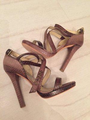 Jimmy Choo Romeinse sandalen beige-licht beige