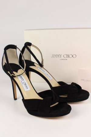 Jimmy Choo Sandaletten schwarz Größe 38 1/2