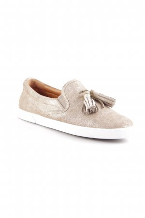 Jimmy Choo Scarpa slip-on oro stile da moda di strada