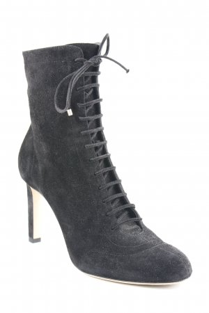 Jimmy Choo Stivaletto stringato nero stile professionale