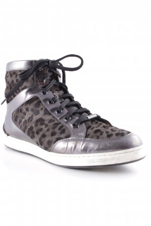 Jimmy Choo Schnürsneaker Animalmuster Animal-Look