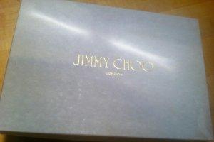 Jimmy Choo Velcro Sneakers white-natural white