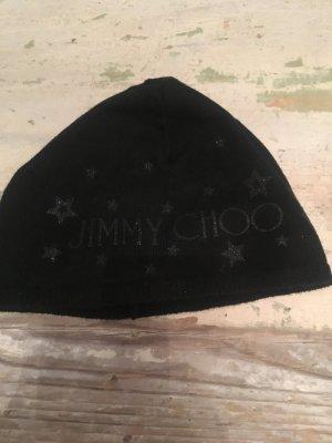Jimmy Choo schwarz Mütze - Sterne Glitzer - Np 65€/  reduziert