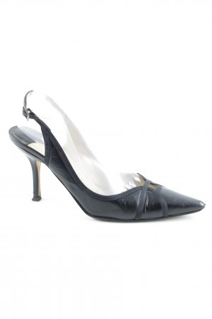 Jimmy Choo Slingback-Pumps schwarz Business-Look