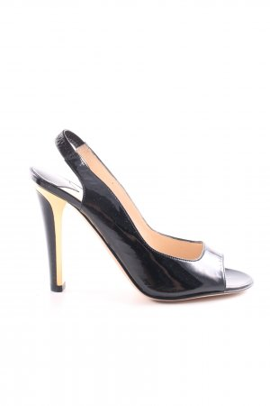 Jimmy Choo Slingback Pumps black-gold-colored elegant