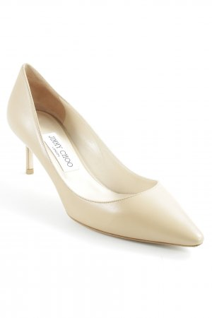 Jimmy Choo Spitz-Pumps nude Elegant